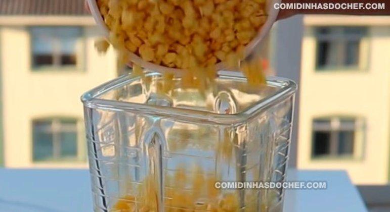 Bolo de Milho Caseiro