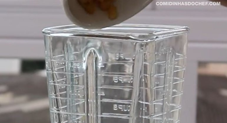 Bolo de milho com Milharina de Liquidificador