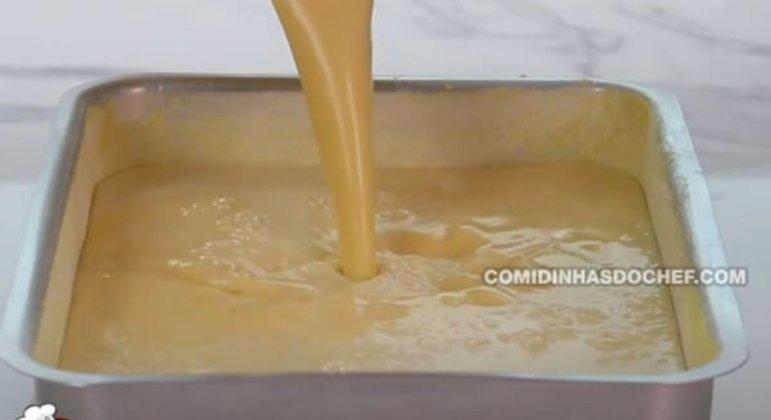 Bolo de Milho Cremoso no Liquidificador