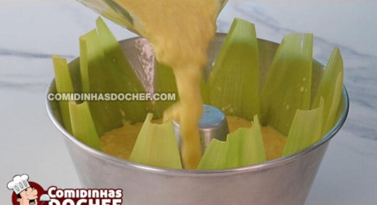 Bolo de Milho Verde no Liquidificador