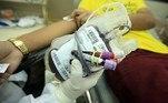 bolsa de sangue- doação