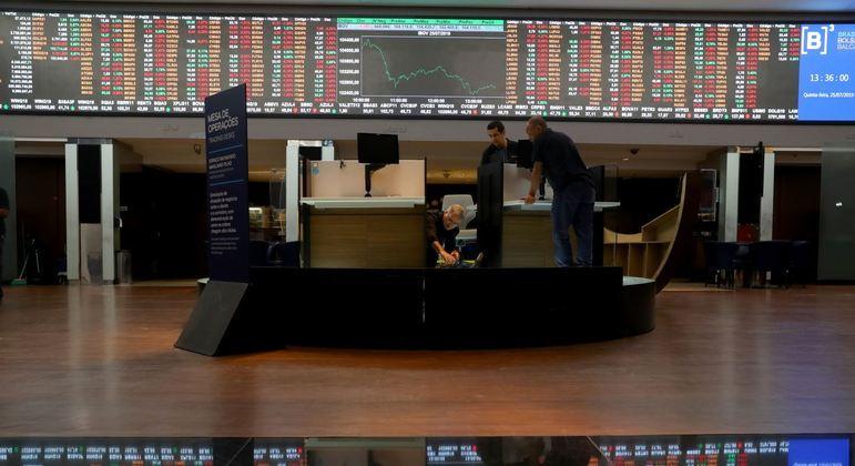 Negócios na Bolsa Paulista mostram orientação negativa nesta quarta-feira (13)