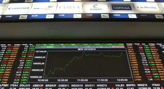 Bolsa de valores sinaliza sessão positiva nos primeiros negócios desta terça-feira (22)