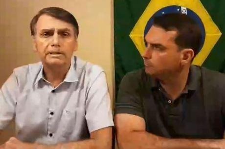 Bolsonaro se manifestou por uma rede social