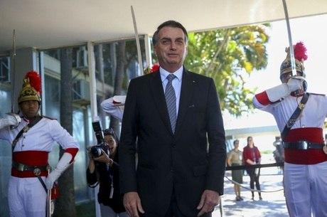 Bolsonaro participou de evento na manhã desta quarta
