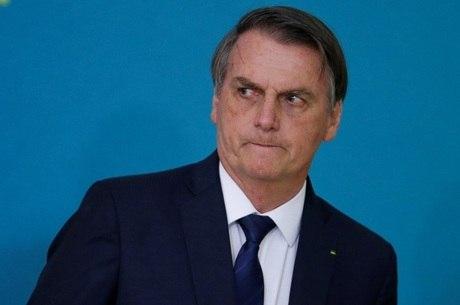 Bolsonaro não comentou sobre o caso