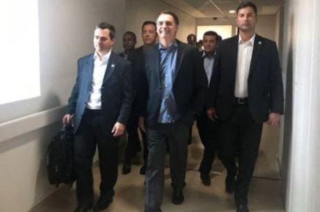 Presidente retornou a Brasília logo em seguida