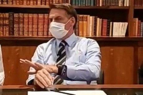Bolsonaro fará teste de coronavírus na semana que vem