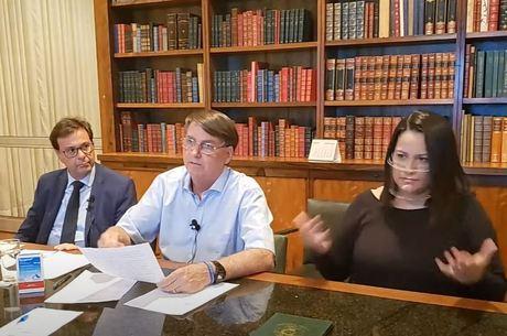 Bolsonaro falou sobre teto de gastos em live