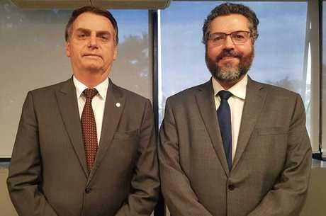 "Bolsonaro disse que Araújo é ""muito experiente"""