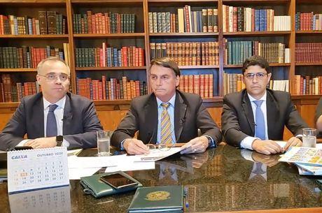 Live contou com a presença dos ministros da Justiça e da CGU