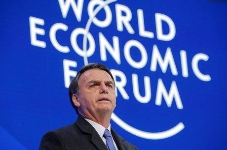 Bolsonaro foi o primeiro chefe de Estado a discursar