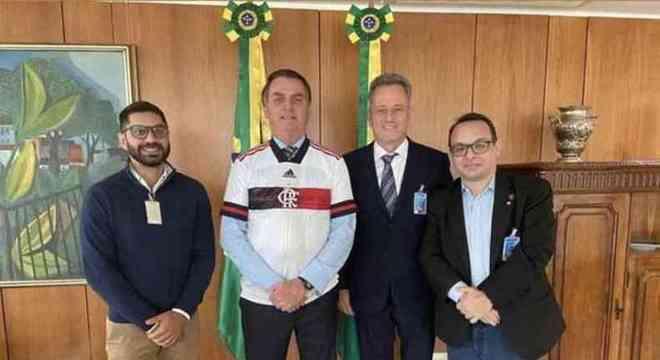 Reunião de Rolim com Bolsonaro. E o presidente telefona para Crivella