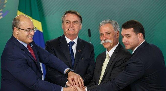 Bolsonaro prometeu. A partir de 2021, o GP do Brasil será no Rio. Deixará São Paulo