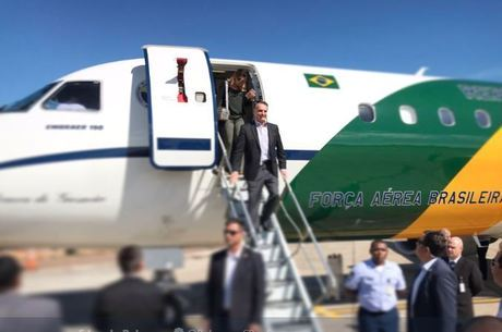 Presidente desembarcou em SP às 10h deste domingo