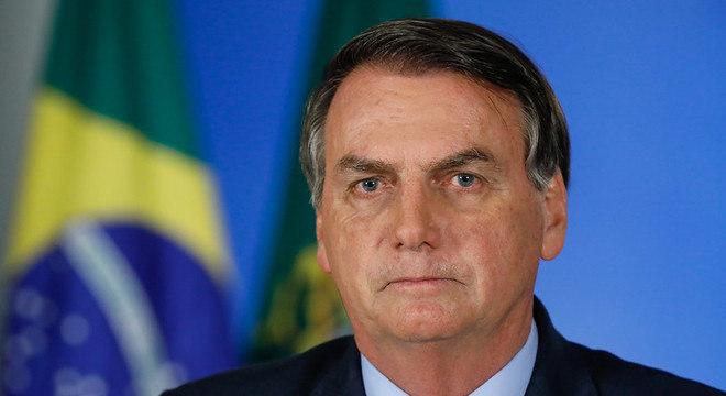 Presidente Bolsonaro publicou mensagem nas redes sociais