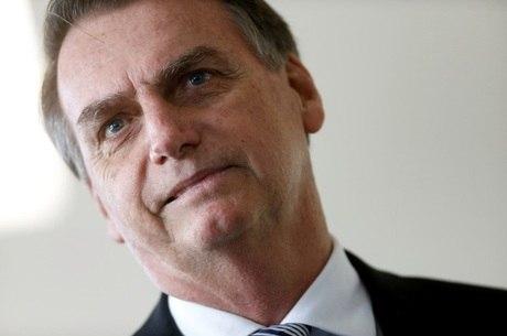 Bolsonaro desembarcou por volta das 8h45