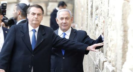 "Bolsonaro e Netanyahu tiveram conversa ""muito positiva"""