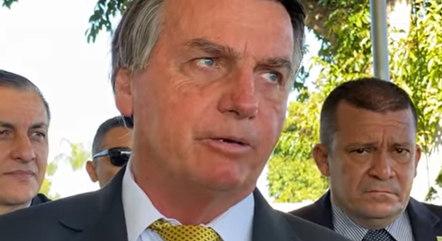 Bolsonaro admite que falta dinheiro para obras