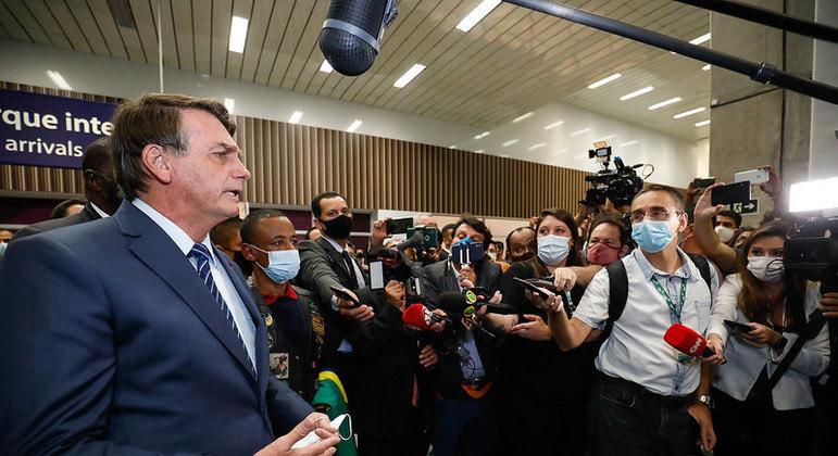 Presidente recepcionou o motorista brasileiro que ficou dois anos preso na Rússia