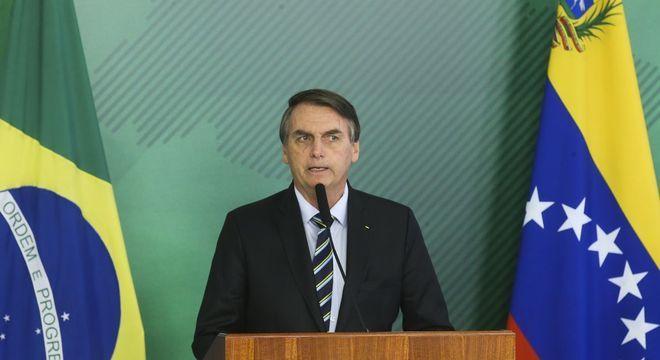 """O presidente Jair Bolsonaro determinou """"comemorações devidas"""" do golpe"""