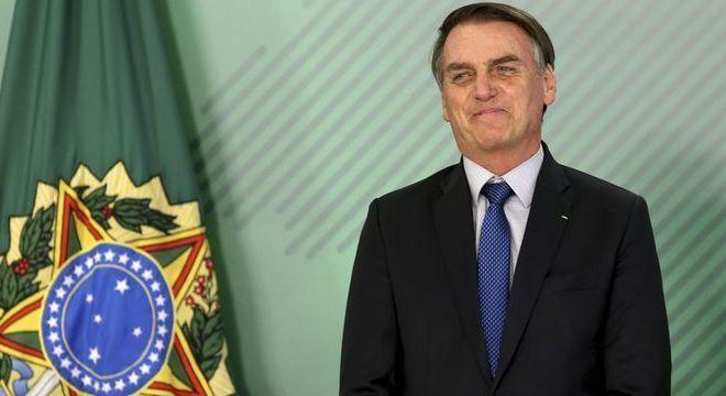 O presidente Bolsonaro chegou à cidade de São Paulo nesta quarta