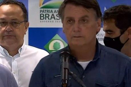 Presidente foi até Macapá neste sábado (21)
