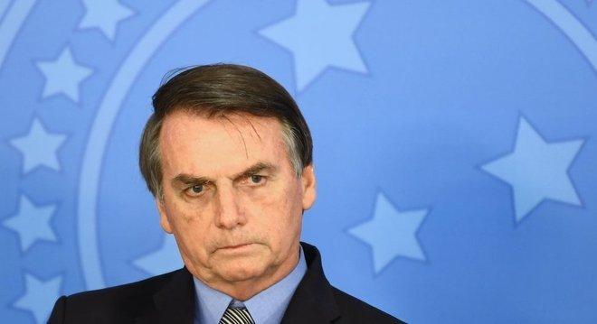 Bolsonaro durante evento em Brasília; cenário preparado para discurso na ONU não é favorável ao brasileiro