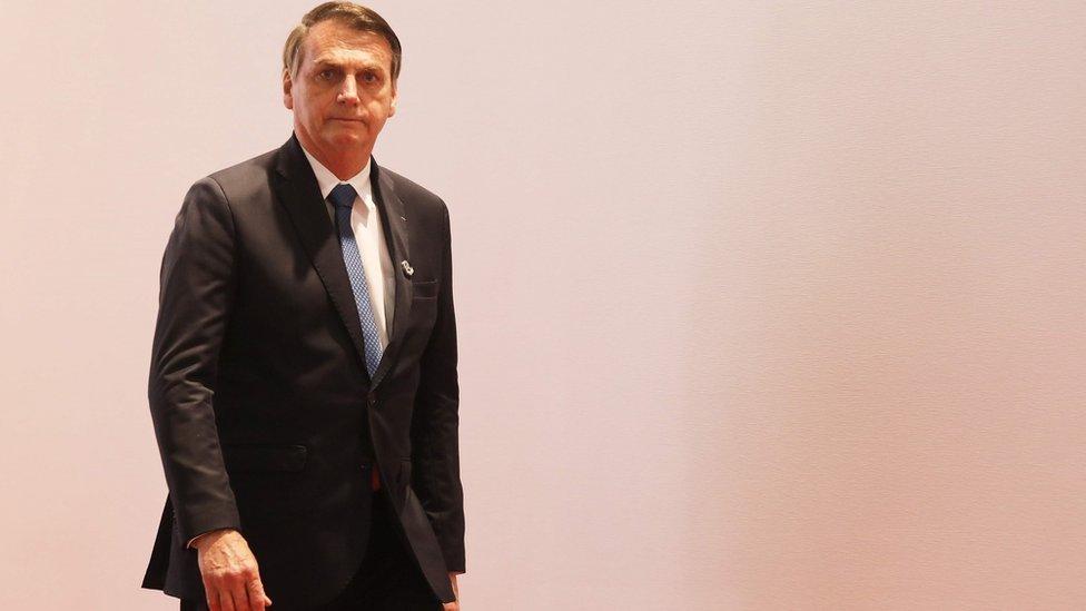 Bolsonaro assegurou que, no avião presidencial, todas as bagagens são amplamente revistadas, inclusive as dele
