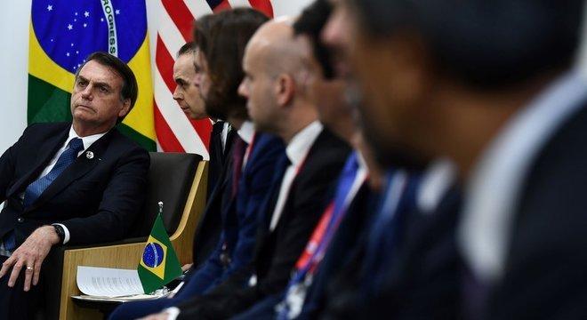Presidente brasileiro participa de cúpula do G20 no Japão