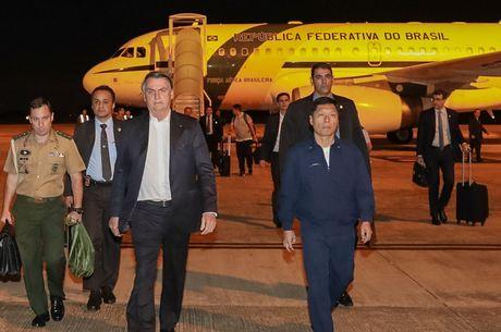 Bolsonaro deve desembarcar amanhã em Aragarças (GO)