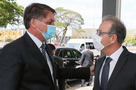 Bolsonaro e o ministro das Minas e Energia, Bento Albuquerque