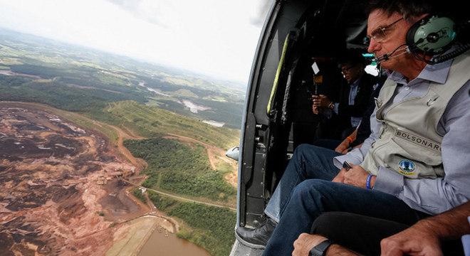 Presidente viajou a Minas Gerais no começo da manhã deste sábado