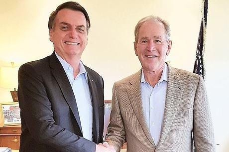 Bolsonaro e Bush conversaram por cerca de 10 minutos