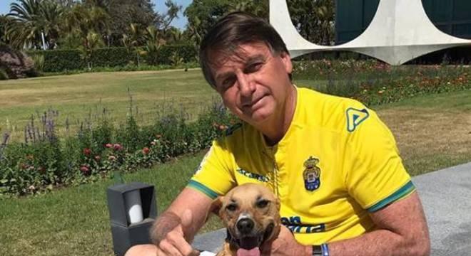 O presidente Jair Bolsonaro diz que fará enquete pelas redes sociais