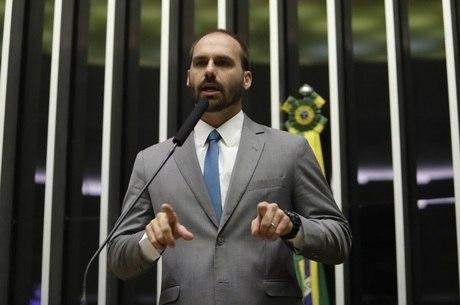 Eduardo Bolsonaro (PSL-SP) discursa na Câmara