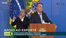 'Todos os ministros são favoráveis à Copa América aqui', diz Bolsonaro