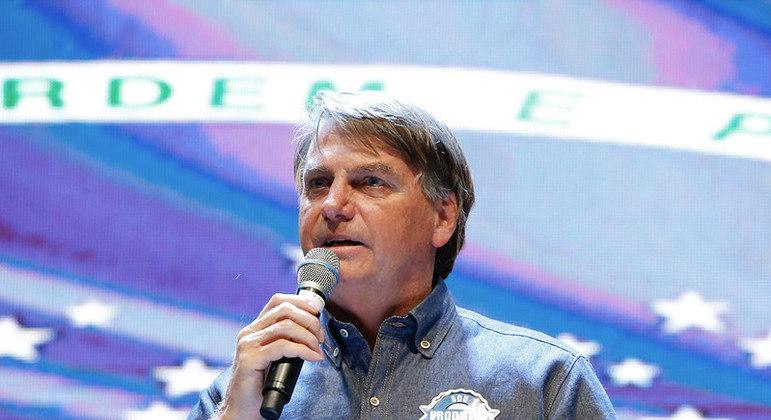 Bolsonaro em culto interdenominacional das Igrejas de Anápolis (GO)