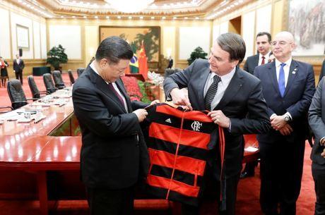 Bolsonaro está na China