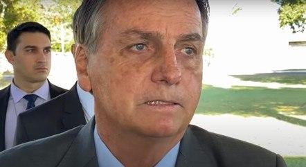 Bolsonaro diz que está por cima do STF