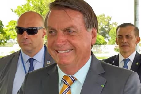 Bolsonaro admite estar triste: 'Só problema'