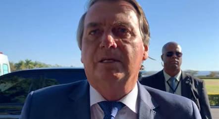 Bolsonaro ficou internado em SP na semana passada