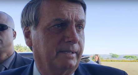 Bolsonaro agradeceu apoio dos pais da criança