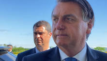 'Injeção, só de ânimo', brinca Bolsonaro com apoiadores