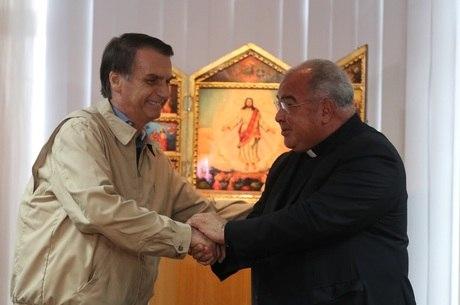Bolsonaro se encontrou com Dom Orani no Rio