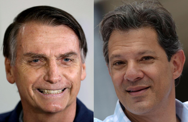 Resultado de imagem para Bolsonaro, com 58% dos votos válidos, tem 16 pontos de vantagem sobre Haddad, diz Datafolha