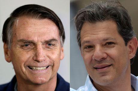 Bolsonaro abriu 16 pontos de vantagem sobre Haddad