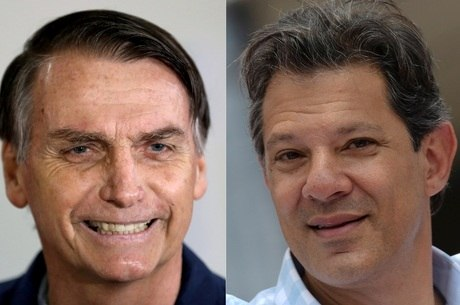 Vantagem de Bolsonaro sobre Haddad caiu 4 pontos