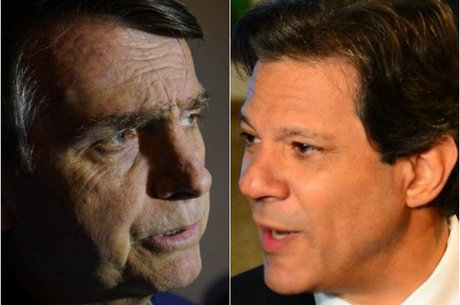 Bolsonaro e Haddad oscilaram na margem de erro