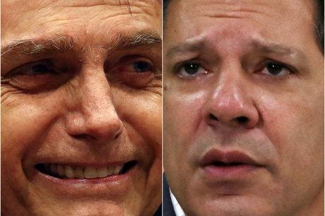 Bolsonaro soma 16 pontos de vantagem sobre Haddad